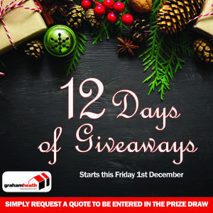 Don't miss the Graham Heath Construction 12 days Christmas Giveaway!