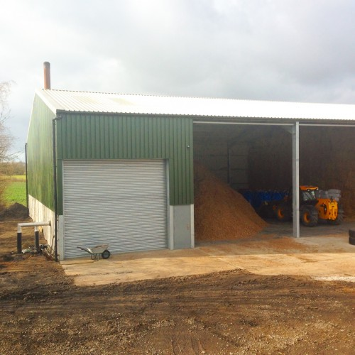 1MW Biomass Boiler Setup