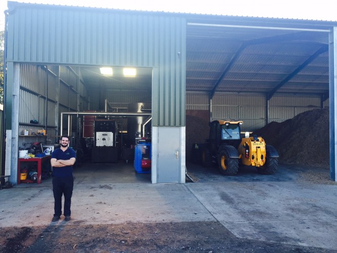 1MW Chip Biomass Boiler Cheshire
