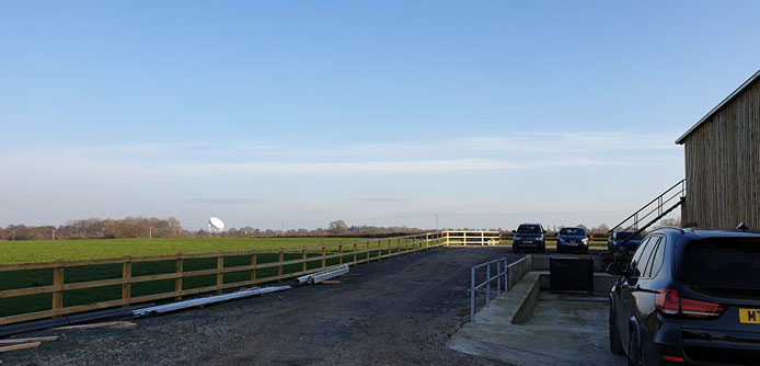 Jodrell Bank at Bidlea Dairy