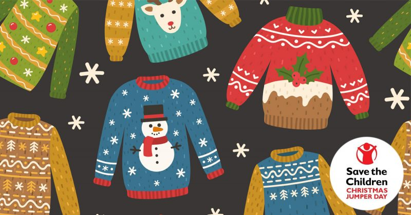 Christmas Jumper Day 2018 - Facebook Competition