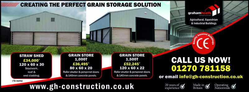 GHC Grain Stores - Spring Campaign 2018