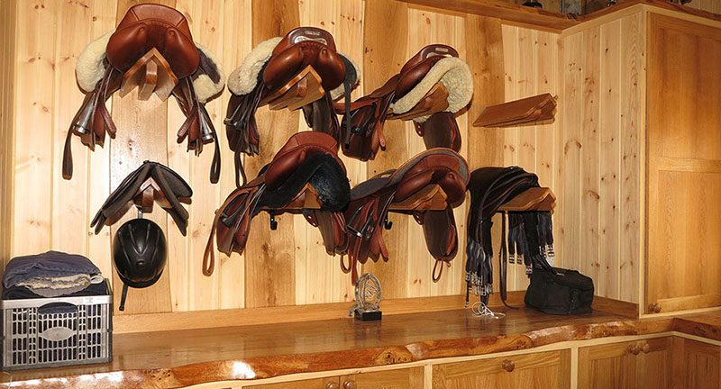 Hickstead Place Tack Room