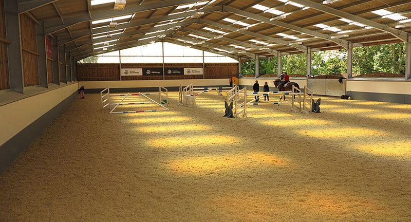 Hickstead Place Sand School