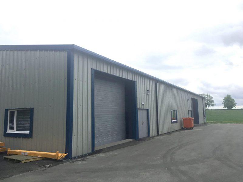 Industrial Steel Framed Building