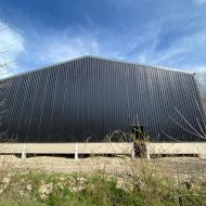 90mm thick concrete panels