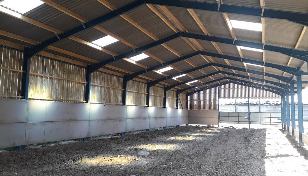 Richard Flintoff Livestock Shed